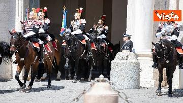 10 - Il cambio della guardia solenne al Quirinale