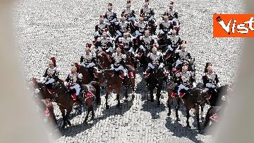 3 - Il cambio della guardia solenne al Quirinale