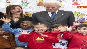 10 - Mattarella visita a sorpresa scuola D. Manin a Roma