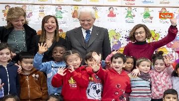 11 - Mattarella visita a sorpresa scuola D. Manin a Roma