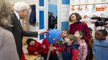 7 - Mattarella visita a sorpresa scuola D. Manin a Roma