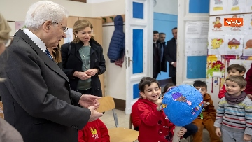5 - Mattarella visita a sorpresa scuola D. Manin a Roma