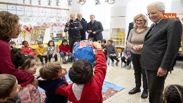6 - Mattarella visita a sorpresa scuola D. Manin a Roma
