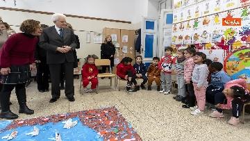 4 - Mattarella visita a sorpresa scuola D. Manin a Roma