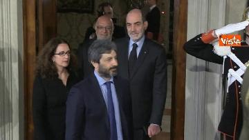 3 - Consultazioni, Roberto Fico al Quirinale per incontrare Mattarella