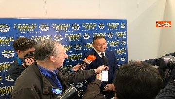 2 - Il candidato del centrodestra in Piemonte Alberto Cirio partecipa al congresso FdI