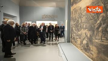 """4 - Mattarella alla mostra """"Raffaello 1520-1483"""""""