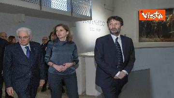 """2 - Mattarella alla mostra """"Raffaello 1520-1483"""""""