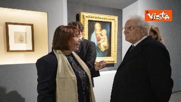 """9 - Mattarella alla mostra """"Raffaello 1520-1483"""""""