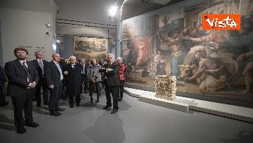 """6 - Mattarella alla mostra """"Raffaello 1520-1483"""""""
