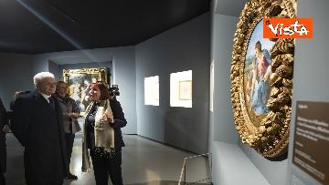 """8 - Mattarella alla mostra """"Raffaello 1520-1483"""""""
