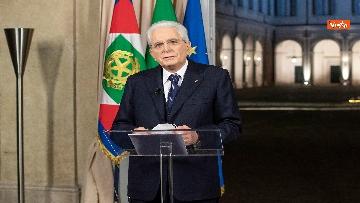 8 - Mattarella il discorso di fine anno integrale