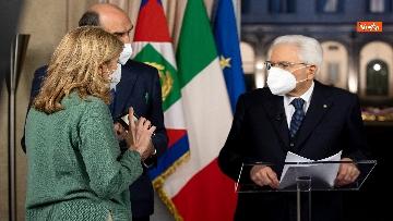 2 - Mattarella il discorso di fine anno integrale