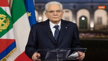 5 - Mattarella il discorso di fine anno integrale