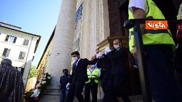 12 - Funerale Zavoli, le immagini del funerale nella chiesa di San Salvatore in Lauro a Roma