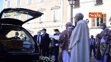 14 - Funerale Zavoli, le immagini del funerale nella chiesa di San Salvatore in Lauro a Roma