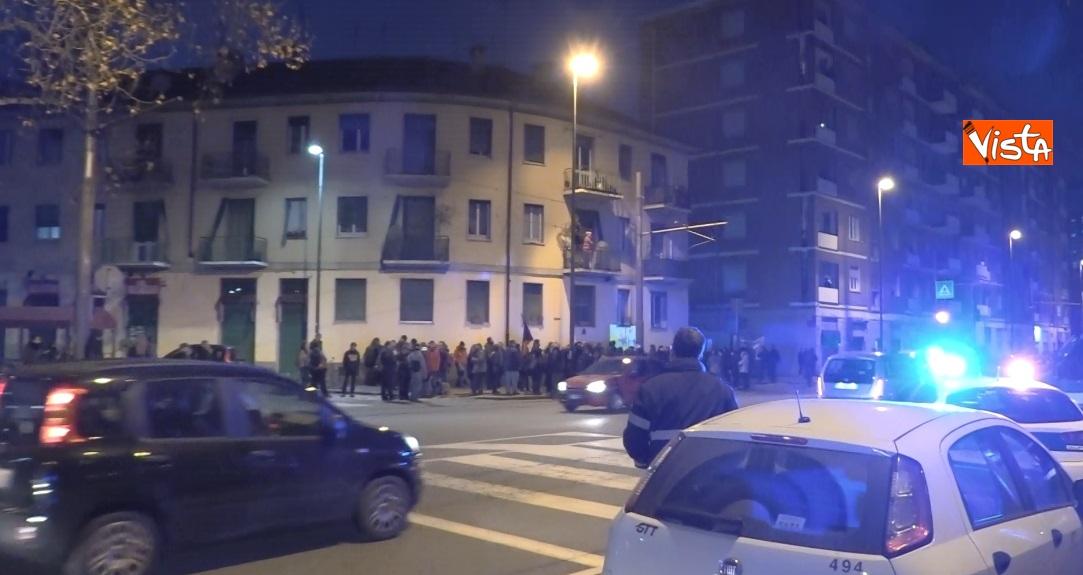 Il presidio degli anarchici a Torino contro la Lega_03