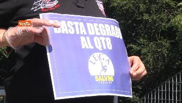 """4 - Salvini in periferia a Milano: """"Violenza sessuale apice di questo degrado"""""""