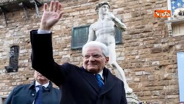 20 - Mattarella partecipa all'inaugurazione anno accademico dell'Università di Firenze a Palazzo Vecchio