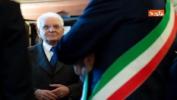 7 - Mattarella partecipa all'inaugurazione anno accademico dell'Università di Firenze a Palazzo Vecchio