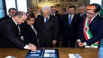 8 - Mattarella partecipa all'inaugurazione anno accademico dell'Università di Firenze a Palazzo Vecchio