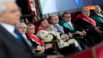 17 - Mattarella partecipa all'inaugurazione anno accademico dell'Università di Firenze a Palazzo Vecchio