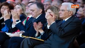 2 - Mattarella partecipa all'inaugurazione anno accademico dell'Università di Firenze a Palazzo Vecchio