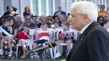 8 - Il Presidente Mattarella visita l'Istituto omnicomprensivo 'Romolo Capranica' di Amatrice