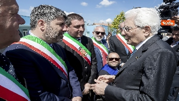 17 - Il Presidente Mattarella visita l'Istituto omnicomprensivo 'Romolo Capranica' di Amatrice