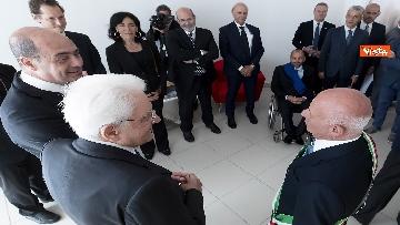 4 - Il Presidente Mattarella visita l'Istituto omnicomprensivo 'Romolo Capranica' di Amatrice