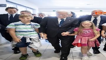 10 - Il Presidente Mattarella visita l'Istituto omnicomprensivo 'Romolo Capranica' di Amatrice