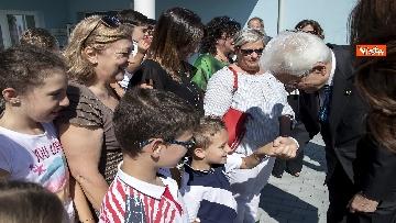 2 - Il Presidente Mattarella visita l'Istituto omnicomprensivo 'Romolo Capranica' di Amatrice