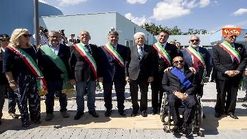 16 - Il Presidente Mattarella visita l'Istituto omnicomprensivo 'Romolo Capranica' di Amatrice