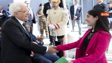 7 - Il Presidente Mattarella visita l'Istituto omnicomprensivo 'Romolo Capranica' di Amatrice