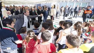 5 - Il Presidente Mattarella visita l'Istituto omnicomprensivo 'Romolo Capranica' di Amatrice