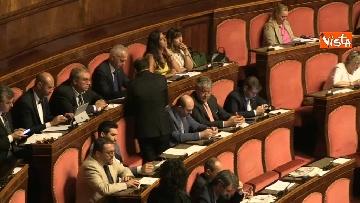 6 - Di Maio in aula al Senato riferisce sul problema sicurezza sul lavoro