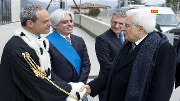 1 - Mattarella a cerimonia di inaugurazione dell'Anno Accademico dell'Università di Cassino, le immagini