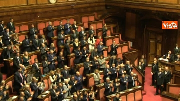 7 - Napolitano apre la prima seduta del Senato
