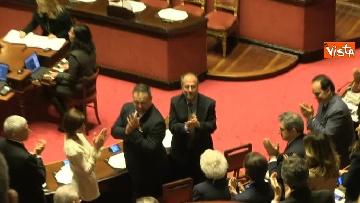 8 - Napolitano apre la prima seduta del Senato
