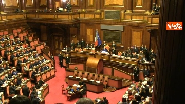 5 - Napolitano apre la prima seduta del Senato