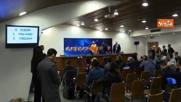 3 - Roma Liverpool la conferenza stampa di Eusebio Di Francesco e Radja Nainggolan
