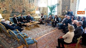 1 - Mattarella incontra delegazione Unione Italiana Ciechi e Ipovedenti al Quirinale
