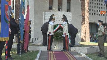 3 - Mattarella al 77° anniversario Difesa di Roma, l'omaggio ai caduti al Parco della Resistenza. Le foto