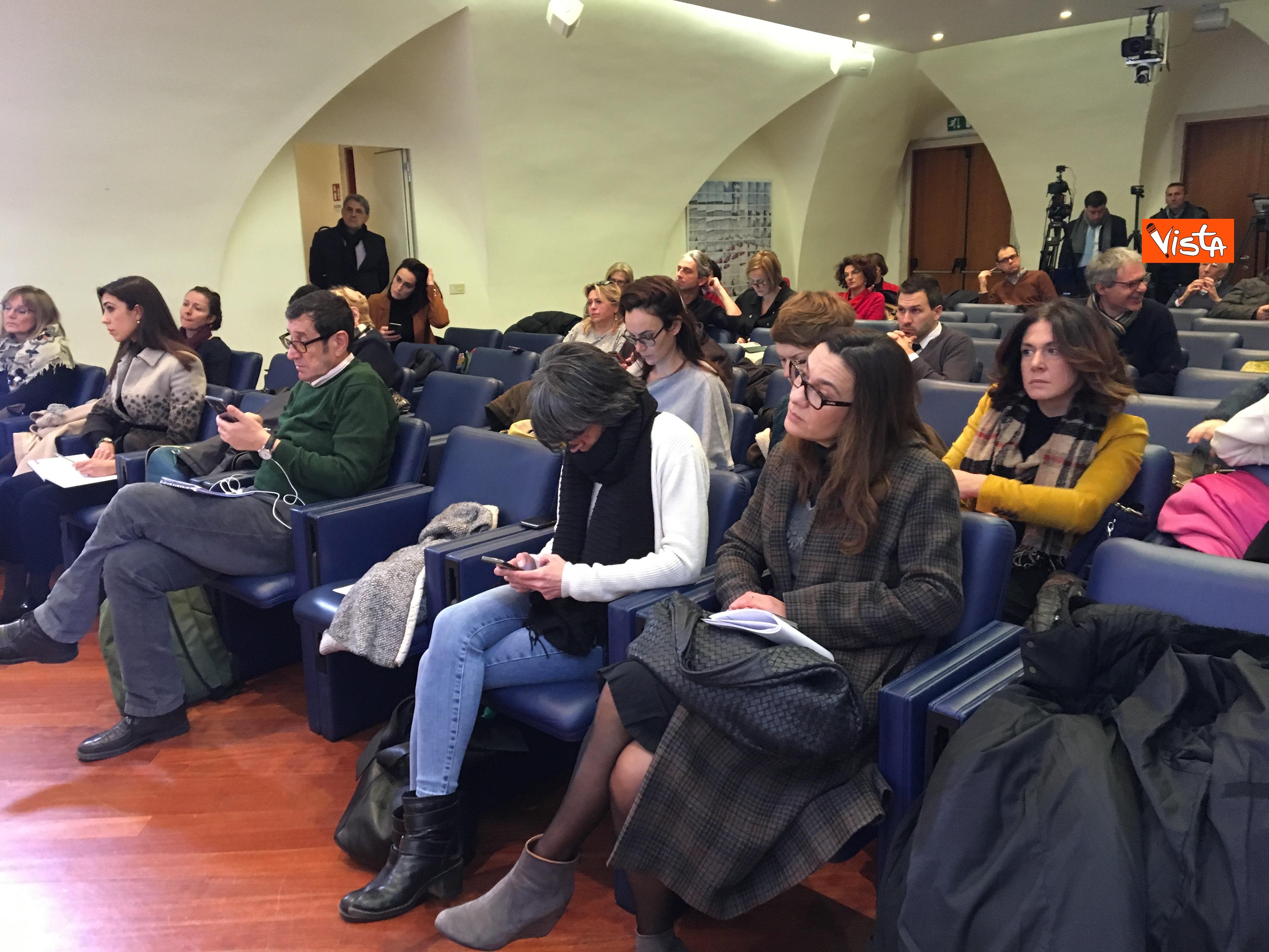 10-01-19 Bonisoli in conferenza stampa alla sede romana della stampa estera immagini_02