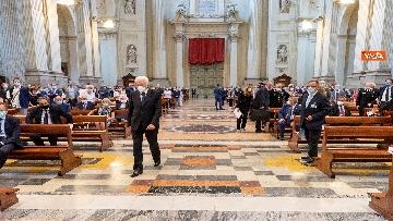 7 - Mattarella alla commemorazione delle vittime delle stragi di Ustica e Bologna
