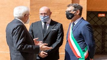 9 - Mattarella alla commemorazione delle vittime delle stragi di Ustica e Bologna