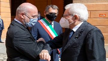 10 - Mattarella alla commemorazione delle vittime delle stragi di Ustica e Bologna