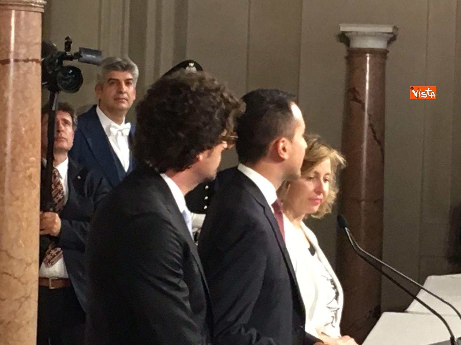 21-05-18 Di Maio guida la delegazione M5s al Quirinale con Toninelli e Giulia Grillo_07