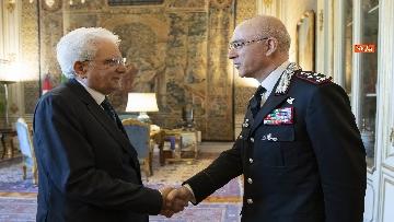 11 - Mattarella al 205° anniversario di fondazione dell'Arma dei Carabinieri