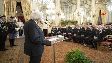 5 - Mattarella al 205° anniversario di fondazione dell'Arma dei Carabinieri
